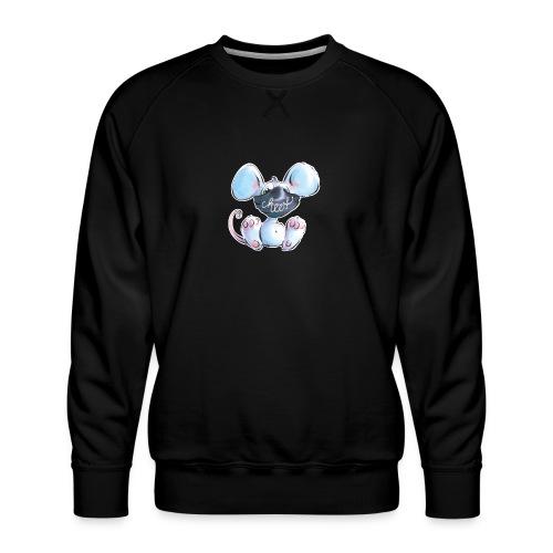 Maskenmaus - Männer Premium Pullover