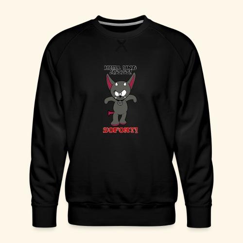 Zwergschlammelfen - Hier und Jetzt, Sofort! - Männer Premium Pullover