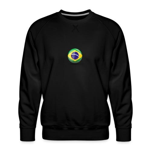 Símbolo da Bandeira do Brasil - Men's Premium Sweatshirt