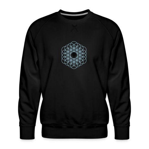 Blume des Lebens Ornament - Männer Premium Pullover