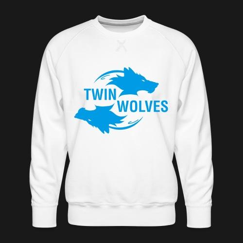 Twin Wolves Studio - Felpa premium da uomo
