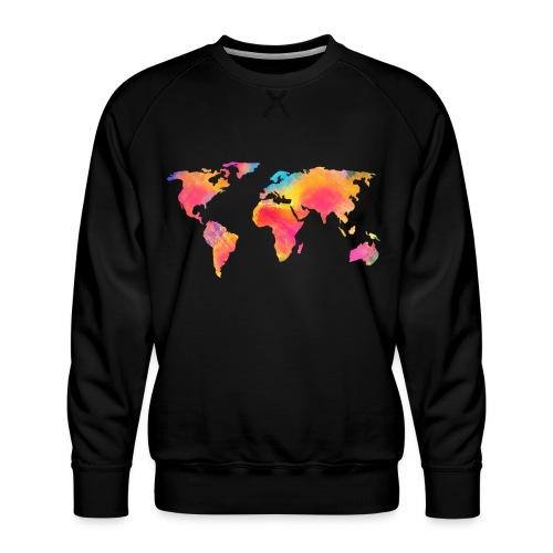 World - Männer Premium Pullover
