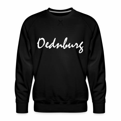 Oednburg Wit - Mannen premium sweater