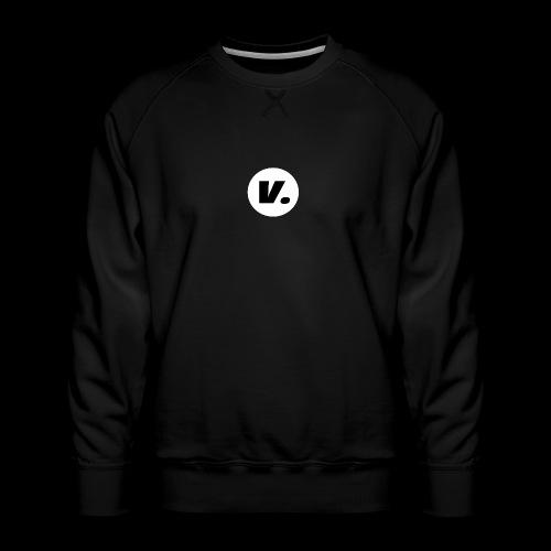 Ventura Black V Logo - Mannen premium sweater
