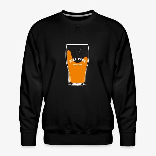Beer Bike Park - Sweat ras-du-cou Premium Homme