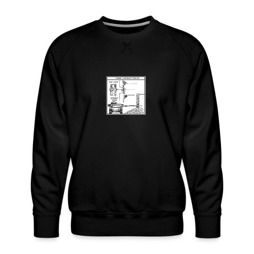 W.O.T War tactic, tank shot - Men's Premium Sweatshirt