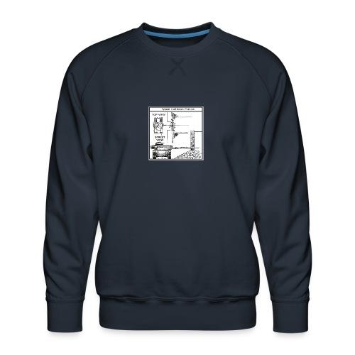 W.O.T War tactic, tank shot - Men's Premium Sweatshirt
