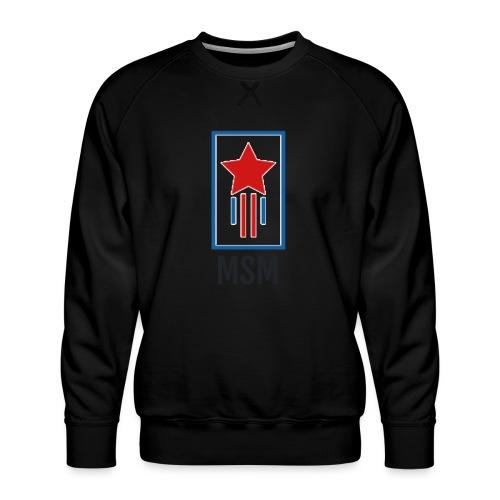 MSM SHOOTING STAR - Herre premium sweatshirt