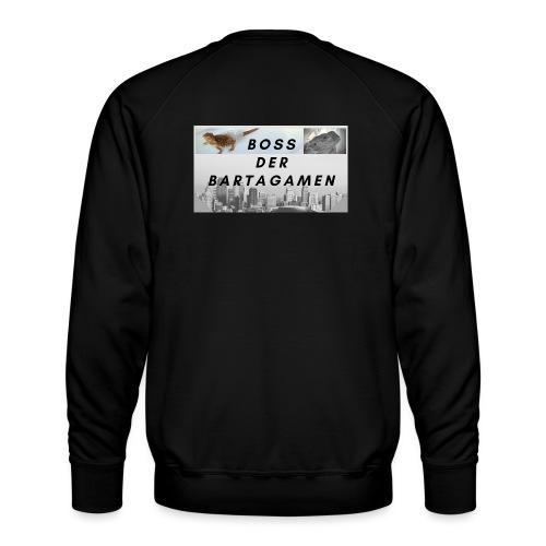Boss der Bartagamen Hoodie Kollektion - beidseitig - Männer Premium Pullover