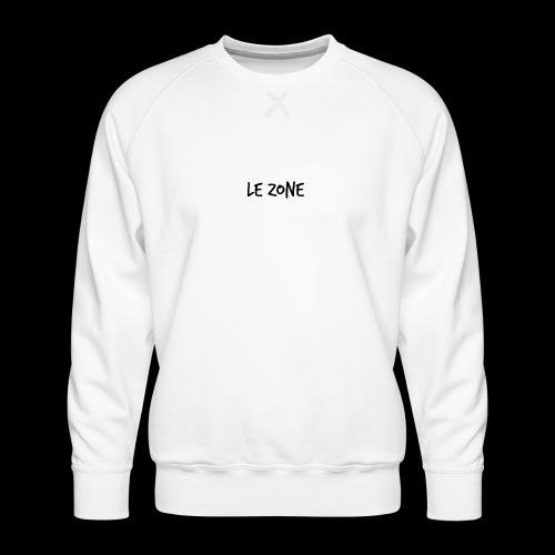 Le Zone Officiel - Herre premium sweatshirt