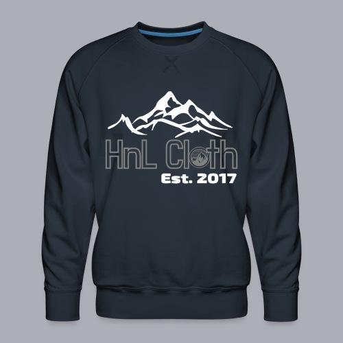 HandL Denim mountain N°2 - Sweat ras-du-cou Premium Homme