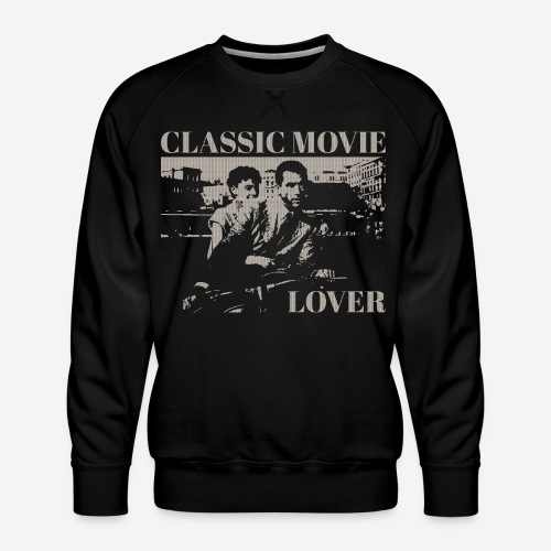classic movie lover - Männer Premium Pullover