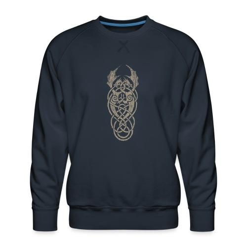 grey dragon knot - Männer Premium Pullover