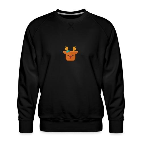 When Deers Smile by EmilyLife® - Men's Premium Sweatshirt