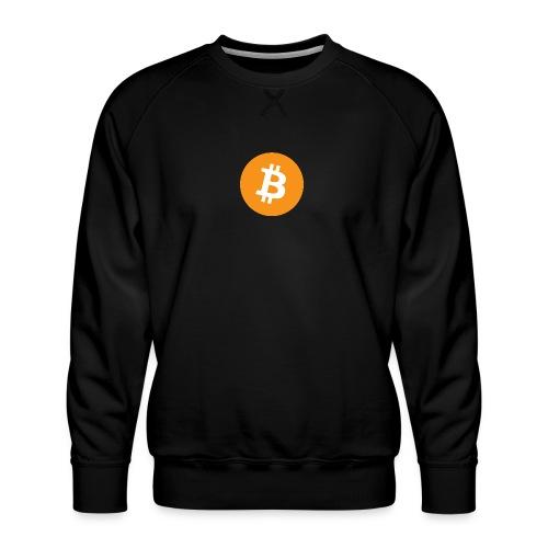 Bitcoin - Men's Premium Sweatshirt