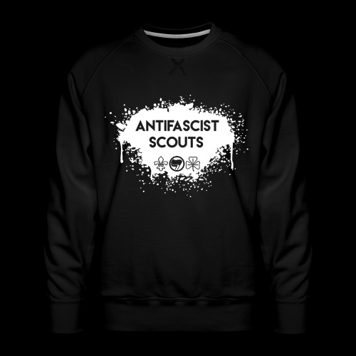 Antifascist Scouts - Men's Premium Sweatshirt