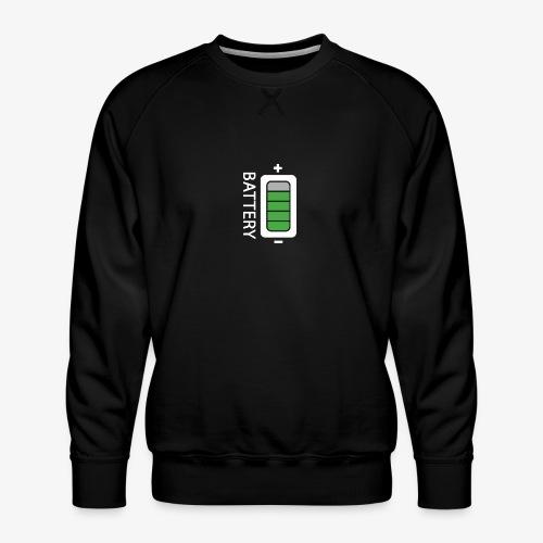 Battery - Felpa premium da uomo