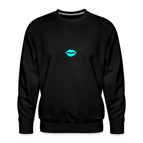 Blue kiss - Men's Premium Sweatshirt
