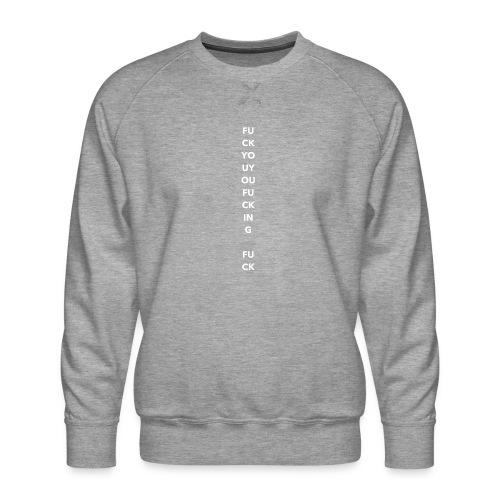 FYYFF Exclamation White - Männer Premium Pullover