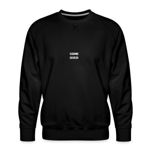 GameovertekstWIT - Mannen premium sweater