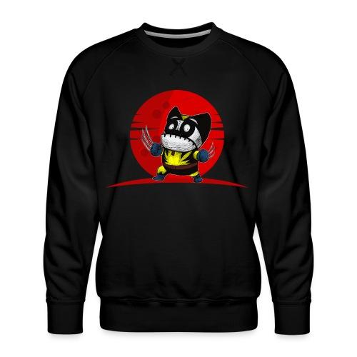Karate Ninja Tigerkralle Panda Bär Kung Fu - Männer Premium Pullover
