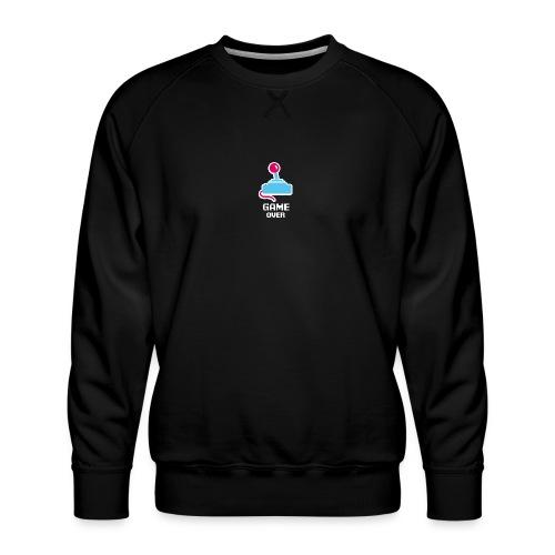 GameoverLogotekst - Mannen premium sweater