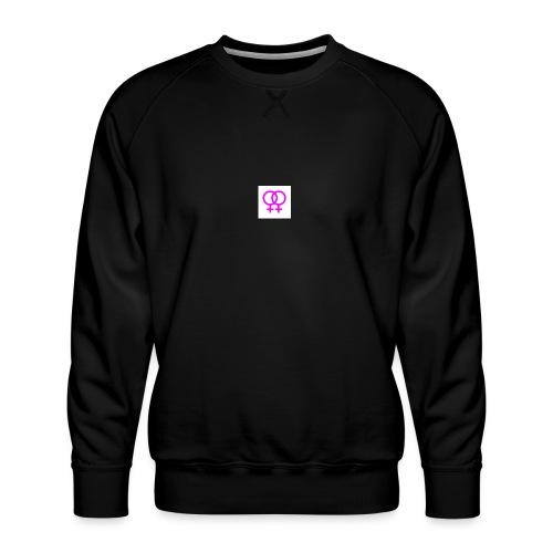 lesbian logo - Sweat ras-du-cou Premium Homme