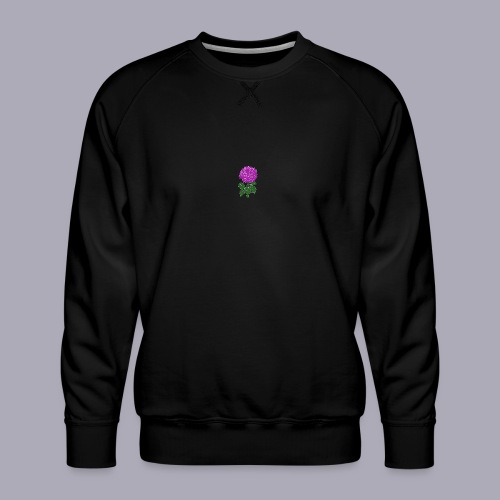 Landryn Design - Pink rose - Men's Premium Sweatshirt
