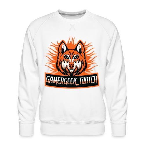 GamerGeek Logo XXXL - Männer Premium Pullover
