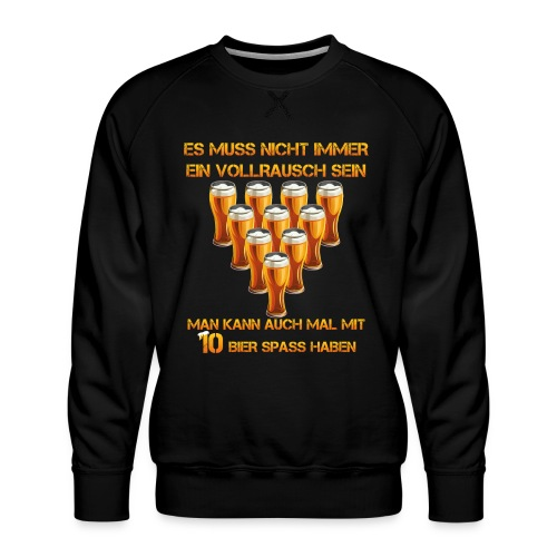 spass mit bier - Männer Premium Pullover