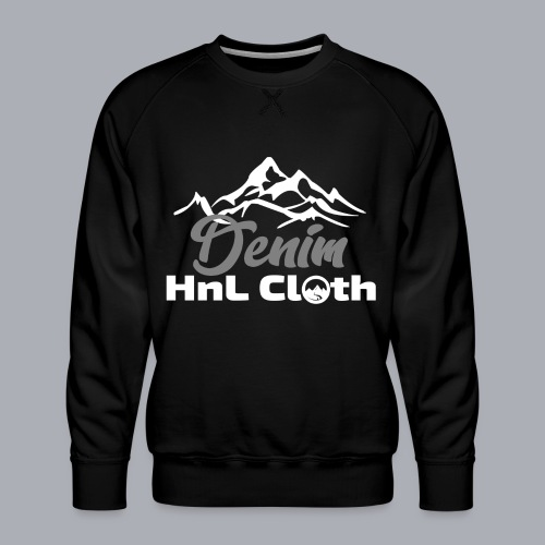H&L Denim mountain n°1 - Sweat ras-du-cou Premium Homme