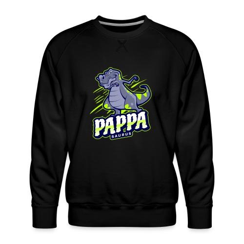 Pappasaurus - Morsomt motiv til pappa - Premium-genser for menn