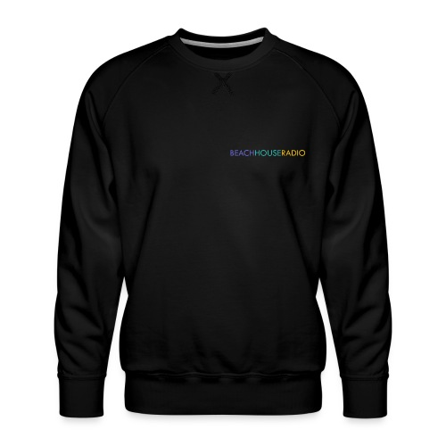 Beach House Radio Logo - Men's Premium Sweatshirt