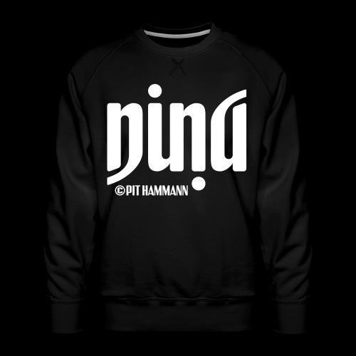 Ambigramm Nina 01 Pit Hammann - Männer Premium Pullover