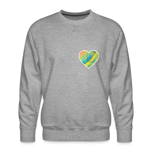 Spread the Love - Men's Premium Sweatshirt