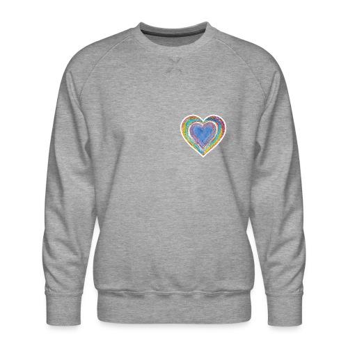Heart Vibes - Men's Premium Sweatshirt