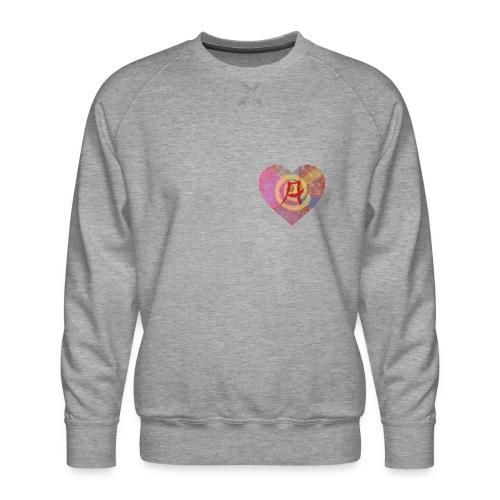 A giant leap forward for the Letter A - Men's Premium Sweatshirt