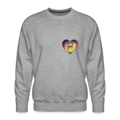 Be a 70th Heart with that special Popper Hippie B - Men's Premium Sweatshirt