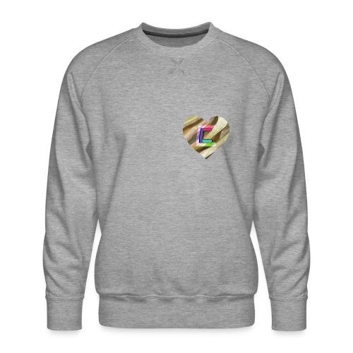 Chris could be crossed by colorful continous C's - Men's Premium Sweatshirt