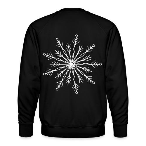 winterkind the mastermind snowflake - Männer Premium Pullover