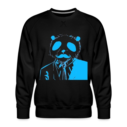 BluePanda Logo - Men's Premium Sweatshirt