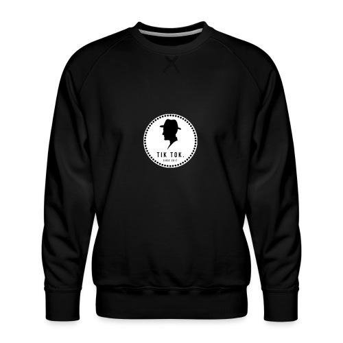 Tik Tok Clothing - Herre premium sweatshirt