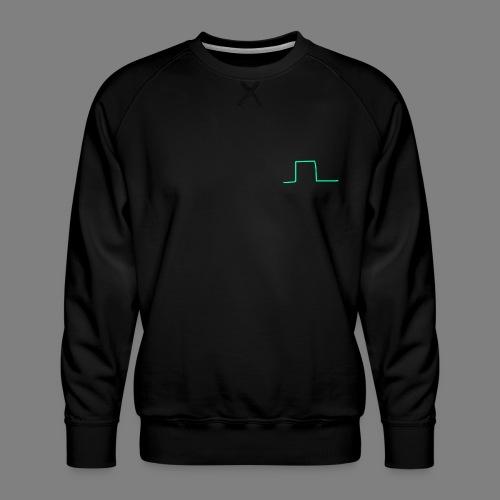 Wave Square - Männer Premium Pullover