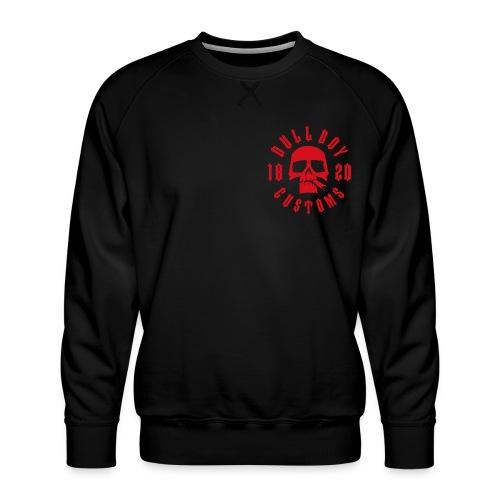 rödrund2 - Premium-genser for menn