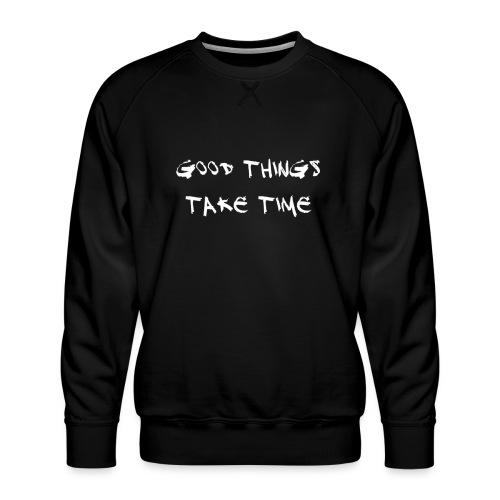 QUOTES - Men's Premium Sweatshirt