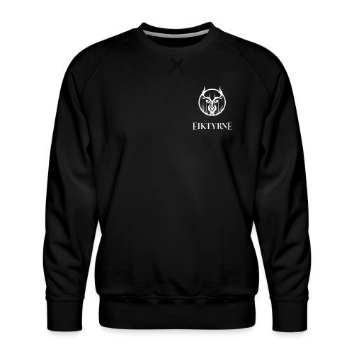 eiktyrne logo sv - Premium-genser for menn
