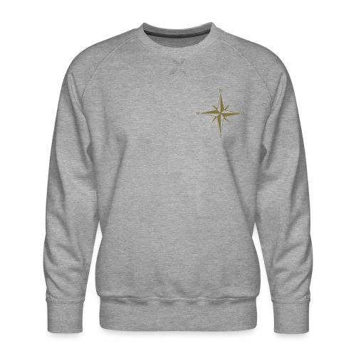 Kompas Gold - Herre premium sweatshirt