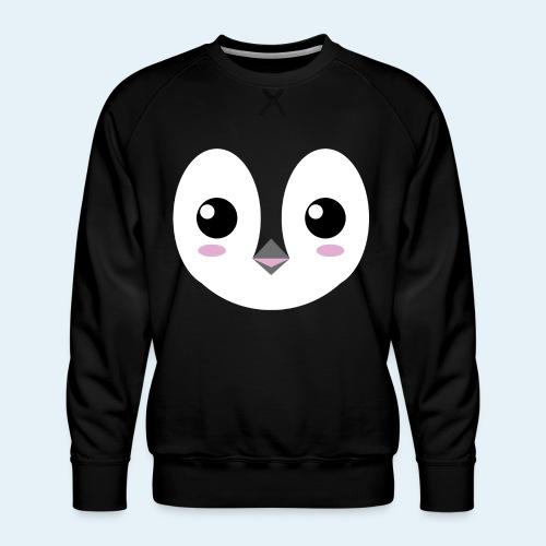 Pingüino bebé (Cachorros) - Sudadera premium para hombre