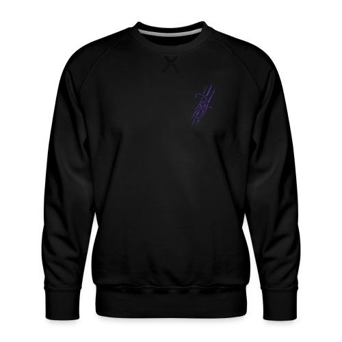 Psy Classic (Purple) - Men's Premium Sweatshirt