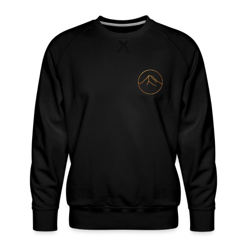 Goldener Berg - Männer Premium Pullover
